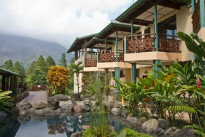 Arenal Observatory Lodge in Costa Rica, photo by Debbie Thompson